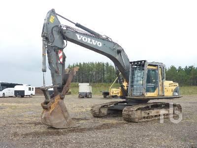 2007 VOLVO EC240B LC Hydraulic Excavator