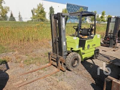 CLARK GPS25SLP 4050 Lb Forklift