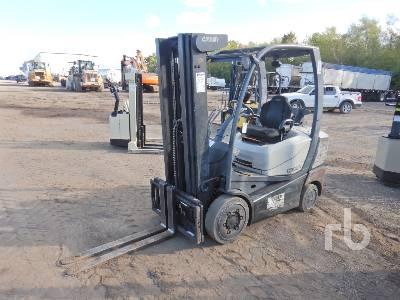 2015 CROWN C51000 4775 Lb Forklift