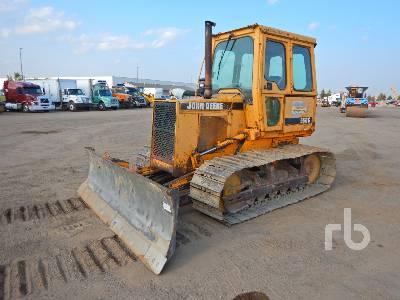 1989 JOHN DEERE 550G Crawler Tractor