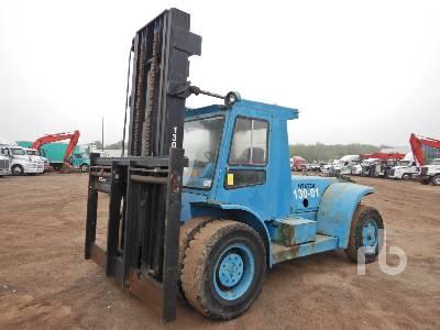 1981 HYSTER H300B 32400 Lb Forklift