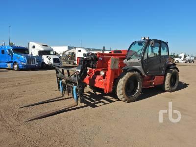 2011 MANITOU MT1840EP 8800 Lb 4x4x4 Telescopic Forklift