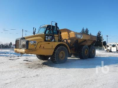 2011 CATERPILLAR 740B 6x6 Articulated Dump Truck