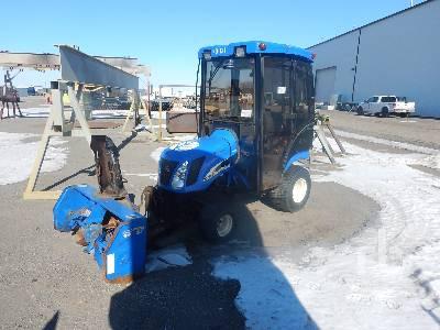 2006 NEW HOLLAND TZ25DA 4WD Utility Tractor