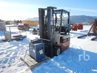 1999 NISSAN 35 2950 Lb Electric Forklift