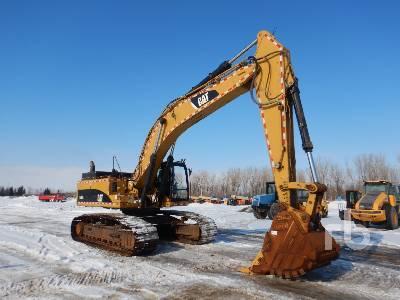2010 CATERPILLAR 345D LVG Hydraulic Excavator