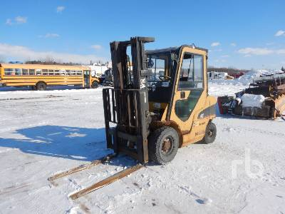 2004 CATERPILLAR P5000 3950 Lb Forklift