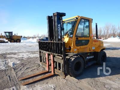 2007 HYSTER H155FT 15000 Lb Forklift