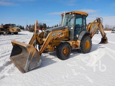 2005 JOHN DEERE 410G 4x4 Loader Backhoe