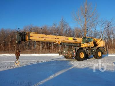 2009 GROVE RT880E 80 Ton 4x4x4 Rough Terrain Crane