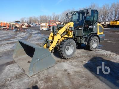 2016 WACKER NEUSON WL38 Q/C, AC Cab Wheel Loader