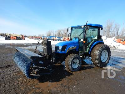 2010 NEW HOLLAND BOOMER 4055 4WD Utility Tractor