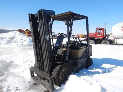 2014 DOOSAN D25S-7 4450 Lb Forklift