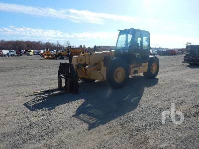 2001 CATERPILLAR TH103 11000 Lb Telescopic Forklift