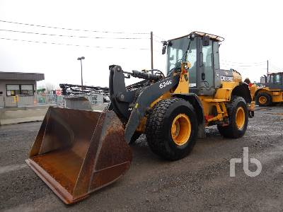 2009 JOHN DEERE 624K Wheel Loader