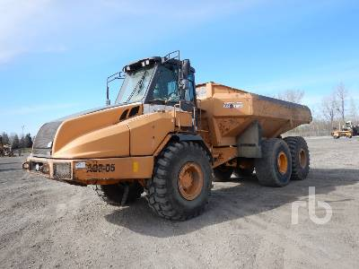 2005 CASE 330 6x6 Articulated Dump Truck
