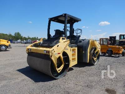 2007 BOMAG BW190AD-4 Tandem Vibratory Roller