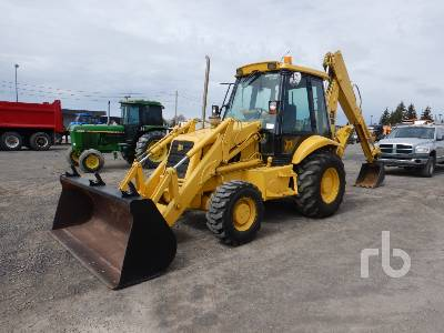1994 JCB 214 4x4 Loader Backhoe