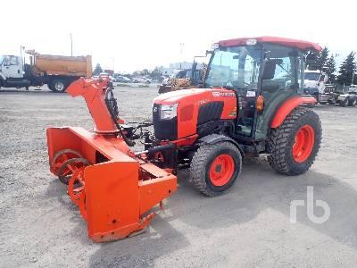 2015 KUBOTA L6060D 2WD Utility Tractor