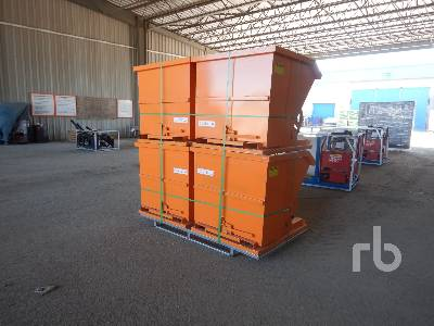 Unused SUIHE Qty Of 4 Self-Dumping Hoppers Container Equipment - Other