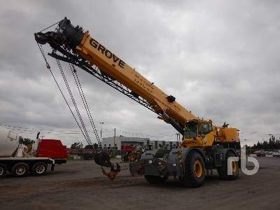 2006 GROVE RT700E 50 Ton 4x4x4 Rough Terrain Crane
