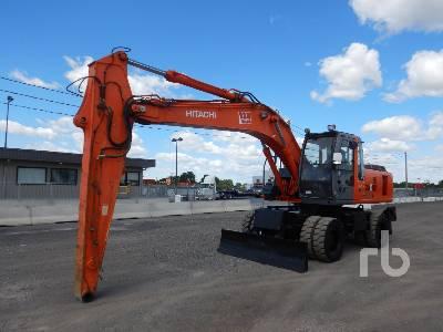 2011 HITACHI EX100WD 4x4 Mobile Excavator