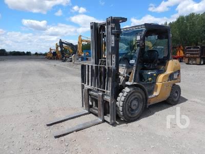 2010 CATERPILLAR PD8000 7350 Lb Forklift