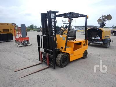 2005 HYUNDAI HBF25TT 3550 Lb Ride On Electric Forklift