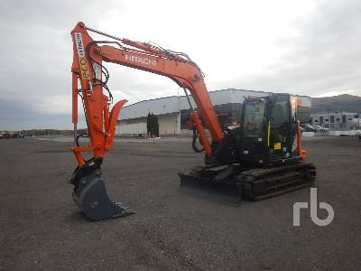 2019 HITACHI ZX85USB-6 Midi Excavator (5 - 9.9 Tons)