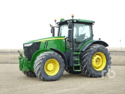 2012 JOHN DEERE 7230R MFWD Tractor