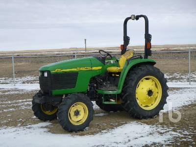 2004 JOHN DEERE 4710 MFWD Utility Tractor