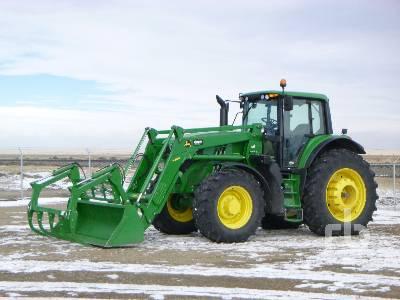 2017 JOHN DEERE 6175M MFWD Tractor