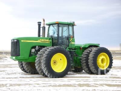 2003 JOHN DEERE 9220 4WD Tractor