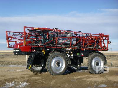 2009 CASE IH PATRIOT 3320 100 Ft High Clearance Sprayer