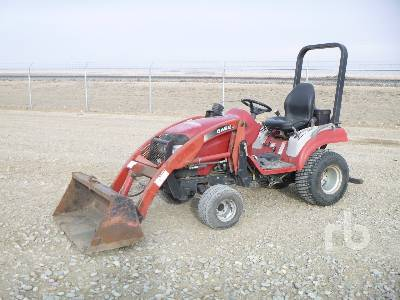 CASE IH DX25E MFWD Utility Tractor