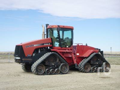 2004 CASE IH STEIGER STX500 Track Tractor