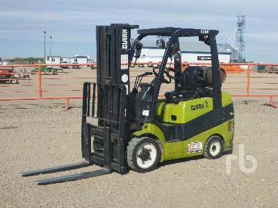 2014 CLARK C30CL 5600 Lb Forklift