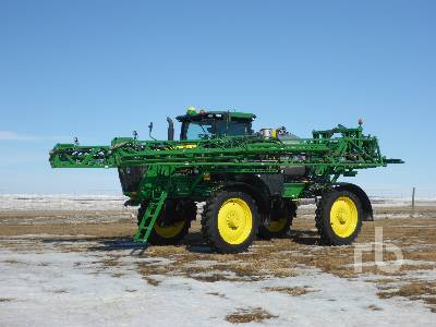 2015 JOHN DEERE R4038 120 Ft High Clearance Sprayer