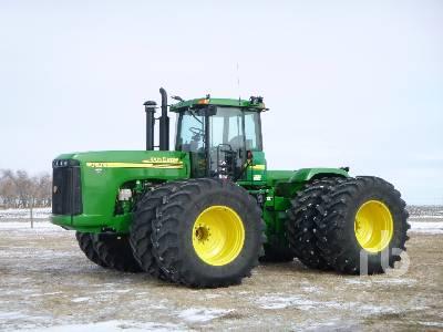 2003 JOHN DEERE 9520 4WD Tractor