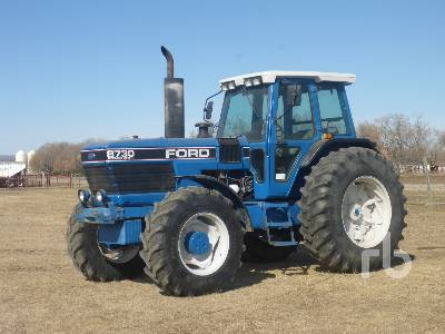 1990 FORD 8730 MFWD Tractor