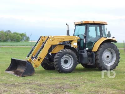2008 CHALLENGER MT525B MFWD Tractor