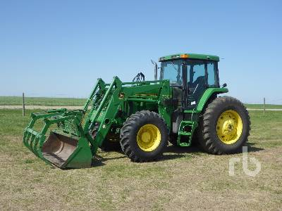 1994 JOHN DEERE 7800 MFWD Tractor