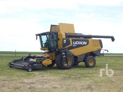 2009 CLAAS LEXION 570 Combine
