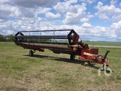 2000 HESSTON 1200 25 Ft Pull Type Swather