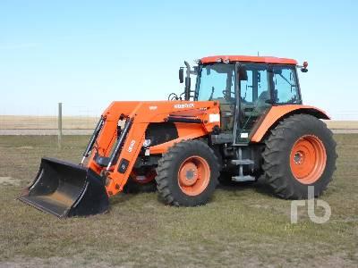 2010 KUBOTA M110X MFWD Tractor