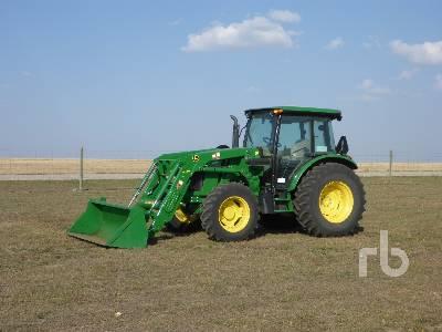 2013 JOHN DEERE 5085M MFWD Tractor