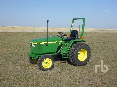 2001 JOHN DEERE 790 Utility Tractor