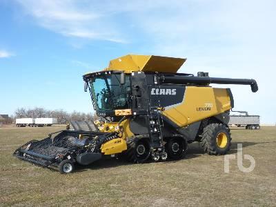 2012 CLAAS 770TT Combine