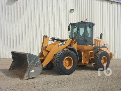 2013 CASE 721F Wheel Loader