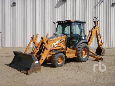2007 CASE 580 SUPER M Series Loader Backhoe